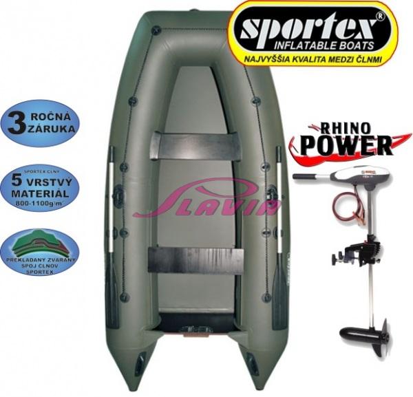 02b932e184ee AKCIA čln SPORTEX Shelf 310 + Elektromotor Rhino VX 28